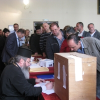 Избори за епархийски избиратели в София
