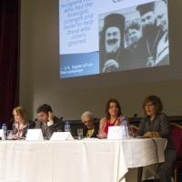 Момент от конференцията за спасяването на българските евреи