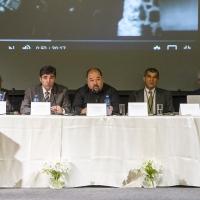 Част от докладчиците на конференцията