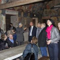 В старата трапезария на Бачковския манастир