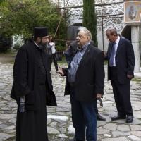Архимандрит Симон в разговор с адвокат Моше Алони