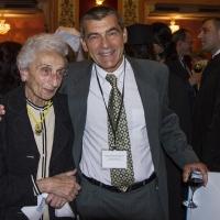 Проф. Хени Лорер с адвокат Елиезар Пней Гил