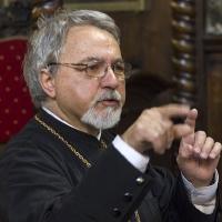 Иконом Кирил Попов - диригент на свещеническия хор