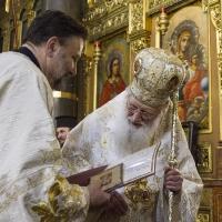 Грамота и за рожденика - митрополитския протодякон Иван Петков, също част от свещеническия хор