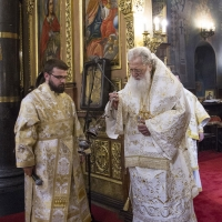 Иподякон Ангел и патриарх Неофит