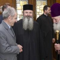 Архимандрит проф. д-р Григорий Папатомас при патриарх Неофит