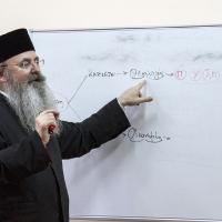 Архимандрит проф. д-р Григорий Папатомас - лекция в Богословския факултет в София