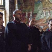 Част от българските певци за празника