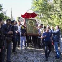 Литийно шествие с Аравийската чудотворна икона на св. вмчк Георги