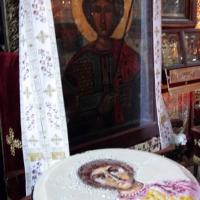 Коливо пред Аравийската чудотворна икона на св. Георги