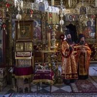 В храма - отпуст и многолетствие за владиката