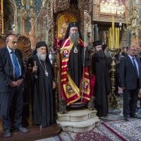 Митрополит Николай с официалните гости за празника
