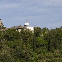 Малкият Св. Георги - на хълма срещу Зографския манастир