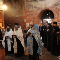 Молебен за успех на конференцията в Ротондата Св. Георги