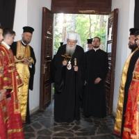 Въдворяване на архимандрит Пахомий като ректор на Софийската духовна семинария_1