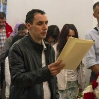 Марио Иванов - четене на паримии