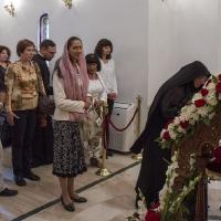 Поклонение пред мощите на св. вмчца Марина