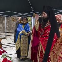 Пред Иверската чудотворна икона и мощите на св. вмчца Марина