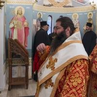 Мелнишки епископ Герасим в храм Св. Марина