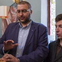 На певницата - Андрей Касабов и Светослав Цеков