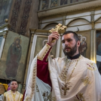Свещеник Дилян Цветков - предстоятел на храма-домакин
