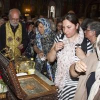Поклонение на светите мощи на великомъченик Пантелеймон