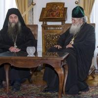 Архимандрит Евлогий и патриарх Неофит