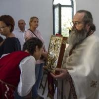 Целуване на Светото Евангелие след прочитането му
