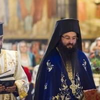 Дякон Петко Дишков и архимандрит Василий