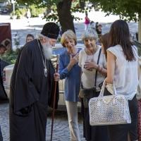 Посрещане на патриарх Неофит в храм Св. Неделя