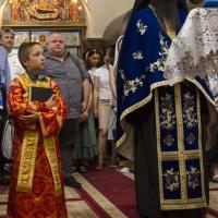 Изпълнение на Богородичния канон в храм Покров Богородичен
