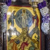 Патронната икона на храм Преображение Господне