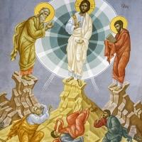 Стенопис на Преображение Господне в едноименния храм. Зограф: Елеонора Караиванска