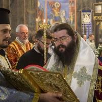 Евангелско четиво на вечернята - с епископ Герасим