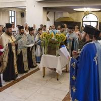 Изпълнение на Богородичния канон в храм Рождество Богородично