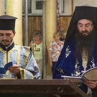 Дякон Костадин и архимандрит Василий