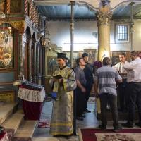 Изпълнение на Богородичния канон в Кюстендил
