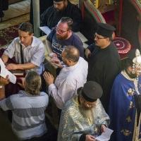 Съборно изпълнение на Богородичния канон в Кюстендил