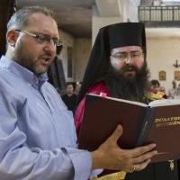 Андрей Касабов и епископ Герасим