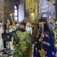 Посрещане на митрополит Серафим
