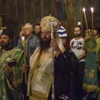 Мелнишки епископ Герасим - лития на вечернята