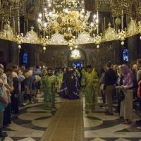 Посрещане на Мелнишки епископ Герасим