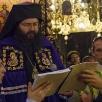 Мелнишки епископ Герасим в Рилския манастир