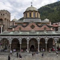 Храм Рождество Богородично - католикон на Рилския манастир