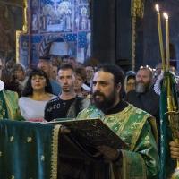 Евангелско четиво с иеродякон Нектарий