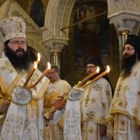 Архиерейска св. Литургия за празника на катедралата Св. Александър Невски