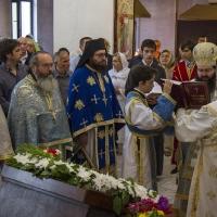 Архиерейска св. Литургия в храм Рождество Богородично