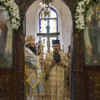 Епископ Герасим с новия дякон