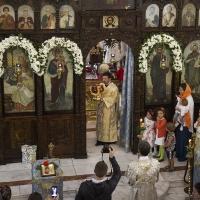 Архиерейска св. Литургия за празника на храм Рождество Богородично