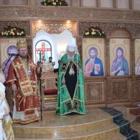 Освещаване на храм Вси Светии в Русе